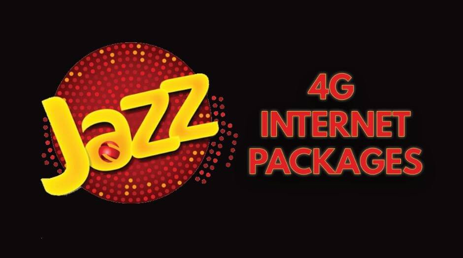 jazz internet packages 4g