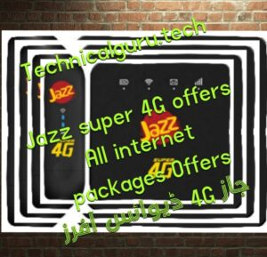 Jazz device all internet packages pakistan